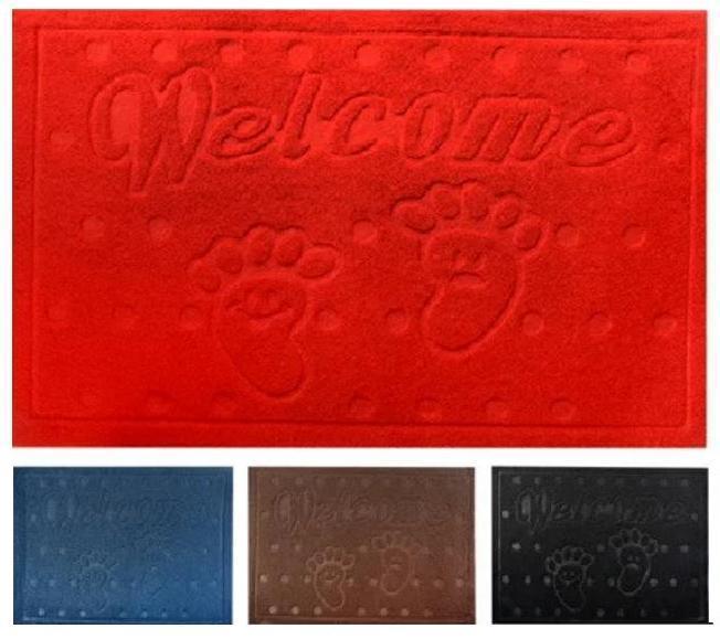 Придверный коврик Welcom, 4 цвета